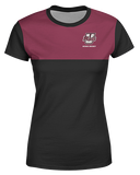 UMass Maroon Color Block Womens T shirt product image