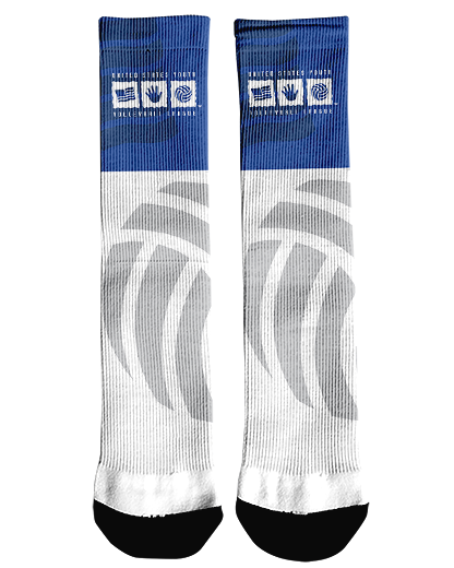 USYVL Ghosted Crew Socks product image