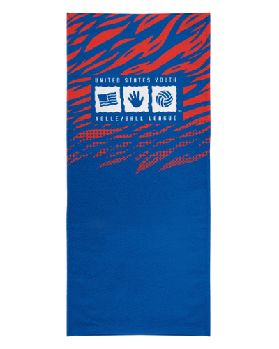 USYVL Striped Beach Towel product image