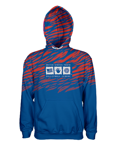 USYVL Striped Pullover Hoodie product image