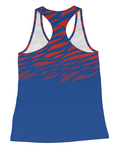 USYVL Striped Womens Racerback Tank product image