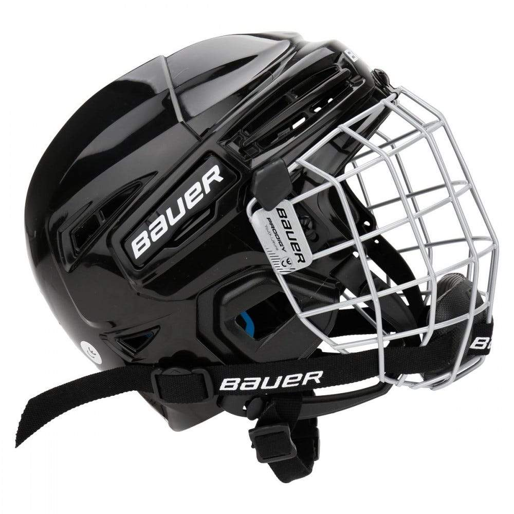 Bauer Prodigy Youth Hockey Helmet Combo - Black (Mock Product)