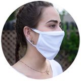 White Cotton Face Mask (multi-pack)