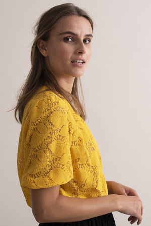 Kaffe Lace Blouse