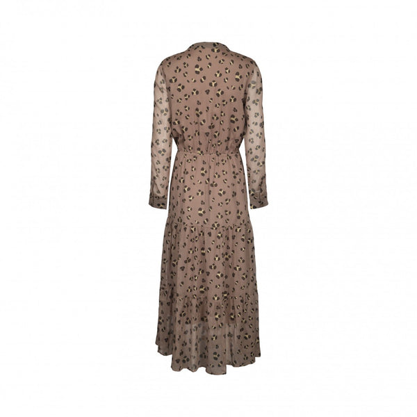 Abbi Leopard Print Dress