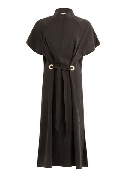Coster Copenhagen Dress w. ring detail and tieband