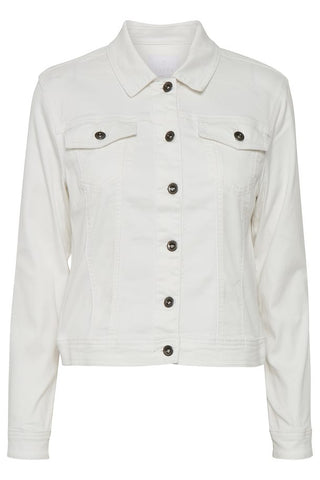 Kaffe White Denim jacket