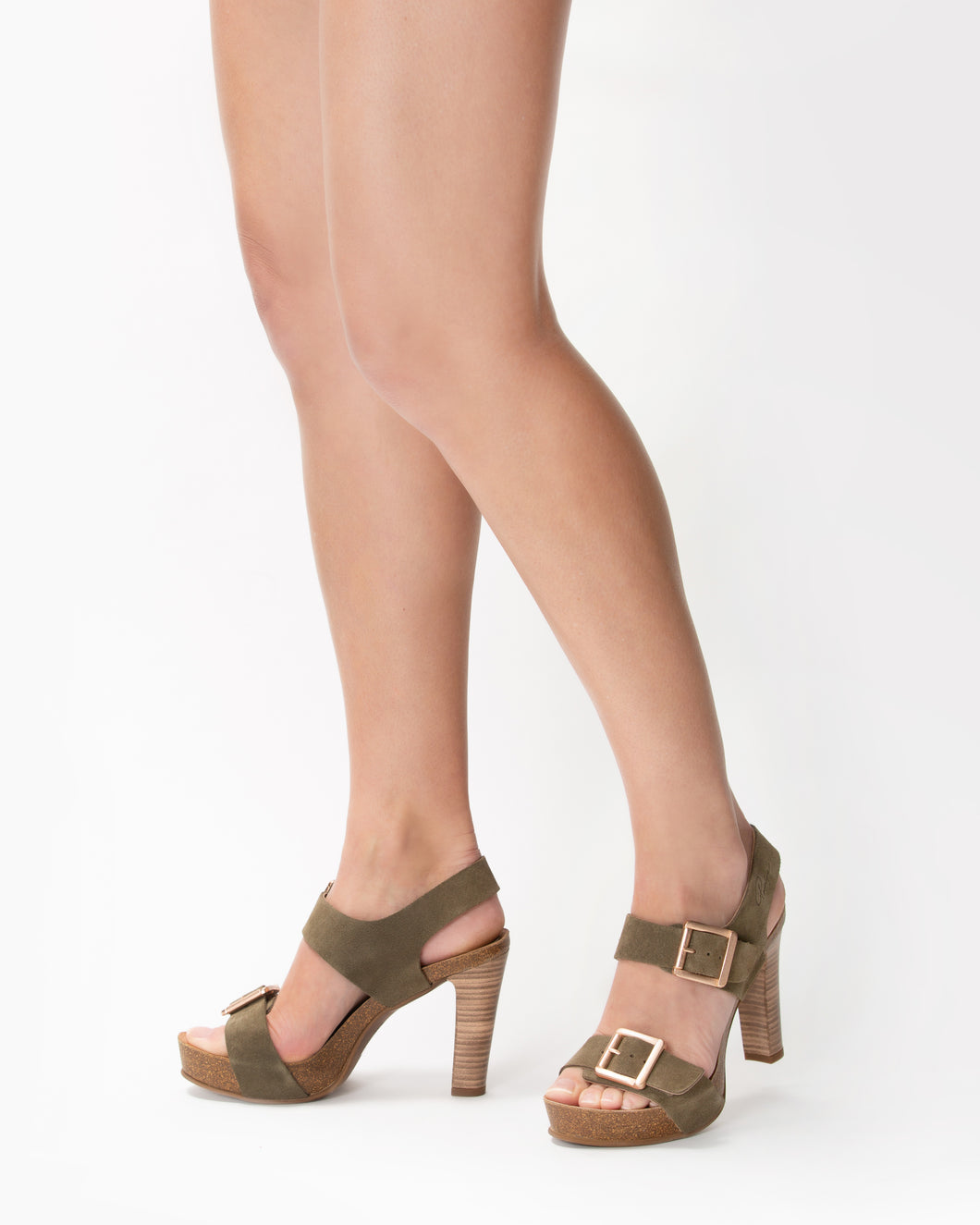 Double Buckle Trebol - European Heels