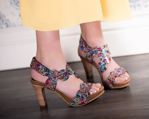 Confetti - 2 Heel Heights - European Heels