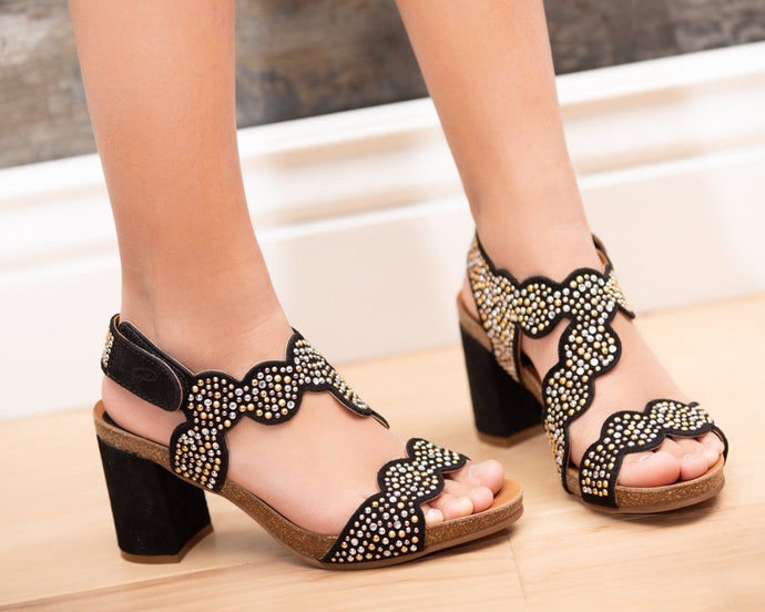Block Brilliants - 2 Colors - European Heels