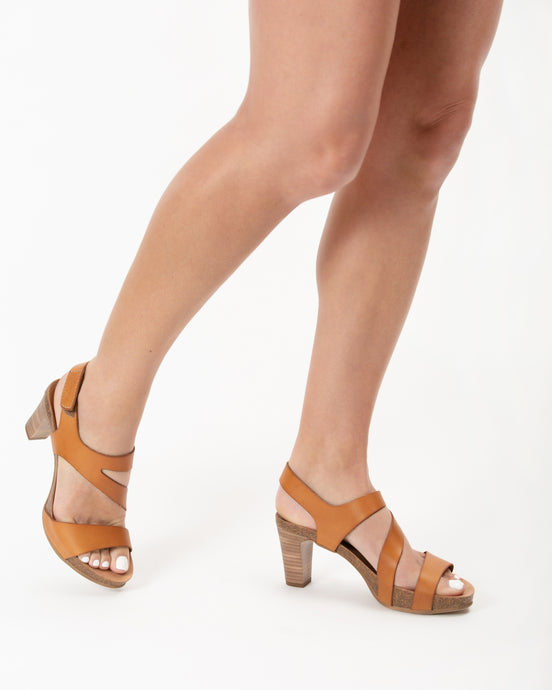Strappy Avellana Lower Heel - European Heels