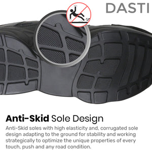 DASTI  Sneakers for Women Women's Casual Shoes Black