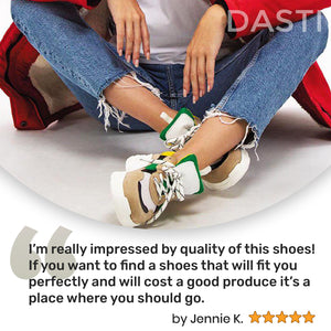 DASTI  Sneakers for Women Women's Casual Shoes Lemon