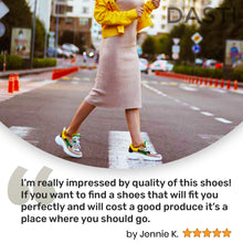 Load image into Gallery viewer, DASTI  Sneakers for Women Women's Casual Shoes Lemon