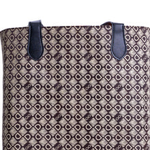 Load image into Gallery viewer, DASTI Double-sided Reversible Big Top Handle Tote For Women Monogrammed