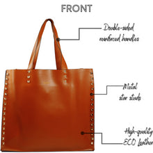 Load image into Gallery viewer, DASTI Shoulder Designer Studded Tote Purses And Handbags For Women