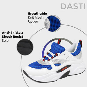 DASTI  Sneakers for Women Women's Casual Shoes Blue