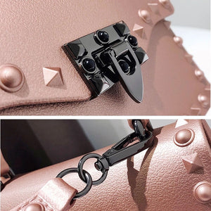 DASTI Studded Handbags for Women Mini, Pink