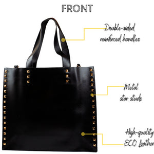 DASTI Shoulder Designer Studded Tote Purses And Handbags For Women