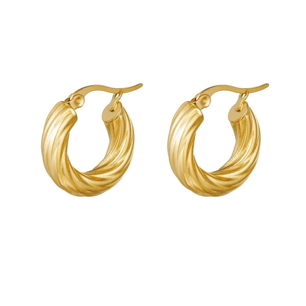 Curly Hoops freeshipping - Mintsy