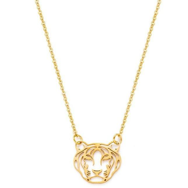 Tiger Necklace freeshipping - Mintsy