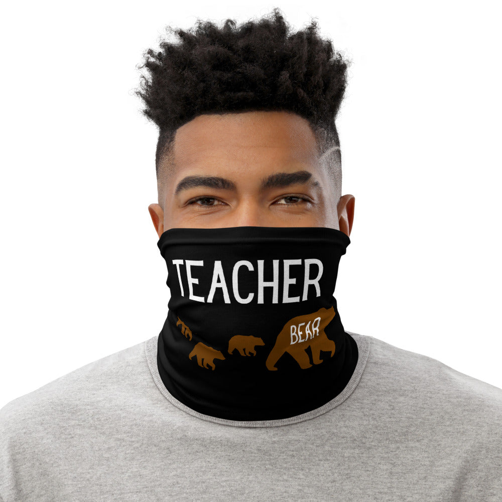 Teacher Bear Neck Gaiter/Face Cover