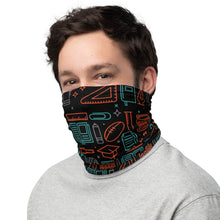 Load image into Gallery viewer, Teacher School Neck Gaiter/Face Mask - Stationery