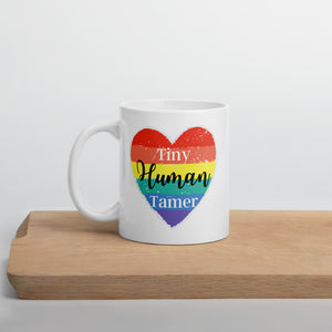 Tiny human tamer teacher Mug