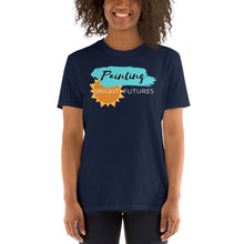 Load image into Gallery viewer, Painting Bright Futures  Unisex Teacher T-Shirt