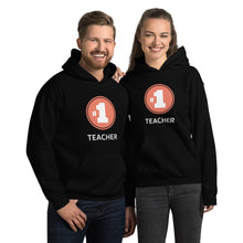 Load image into Gallery viewer, Number 1 Teacher Unisex Sweatshirt Hoodie