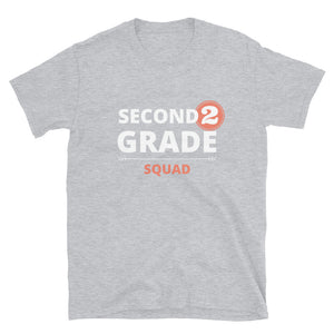 Second Grade Squad Unisex Teacher T-Shirt