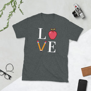 LOVE Teacher Unisex T-Shirt