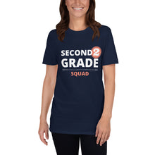 Load image into Gallery viewer, Second Grade Squad Unisex Teacher T-Shirt