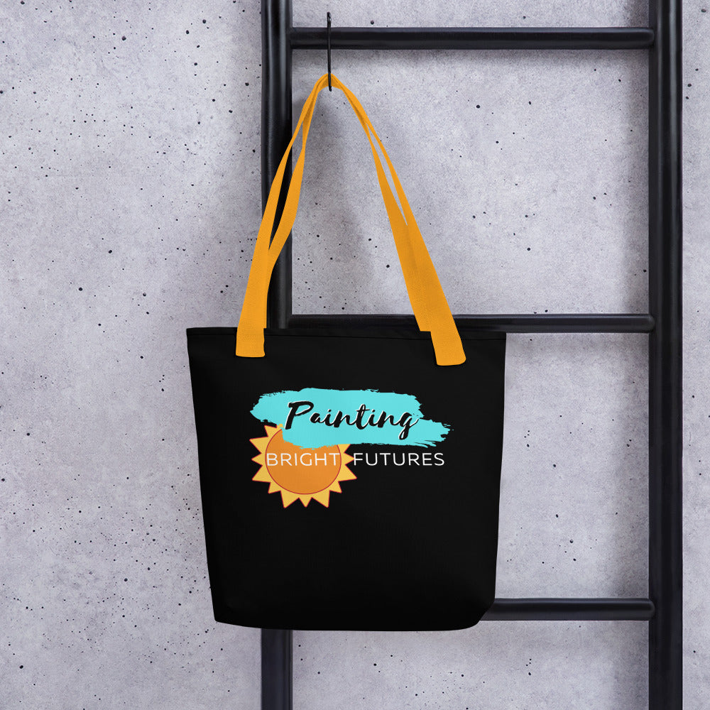Painting Bright Futures tote bag