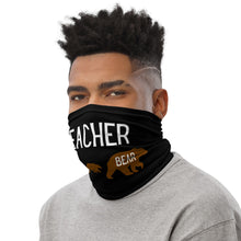 Load image into Gallery viewer, Teacher Bear Neck Gaiter/Face Cover