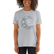 Load image into Gallery viewer, Never Stop Learning Teacher T-Shirt