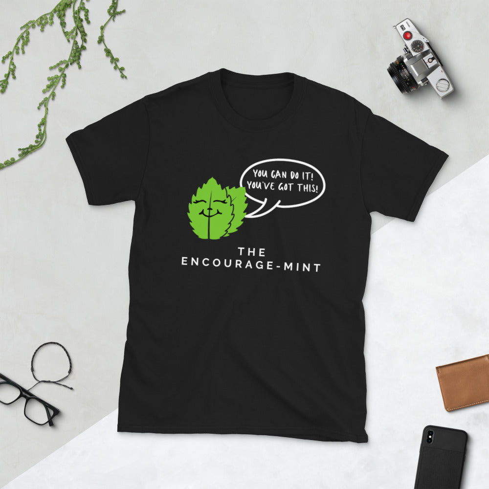 Encourage-mint Unisex Teacher T-Shirt