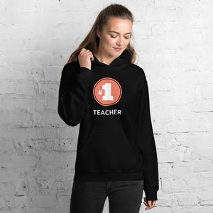 Number 1 Teacher Unisex Sweatshirt Hoodie