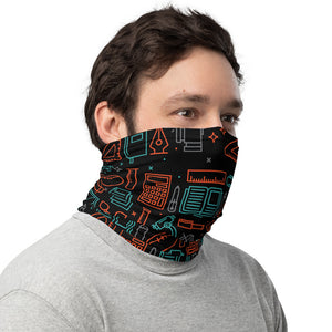 Teacher School Neck Gaiter/Face Mask - Stationery