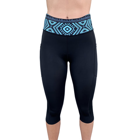 Activ UV Womens 3/4 Leggings