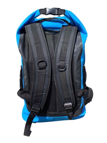25L DRY BACK PACK-CYAN/GREY