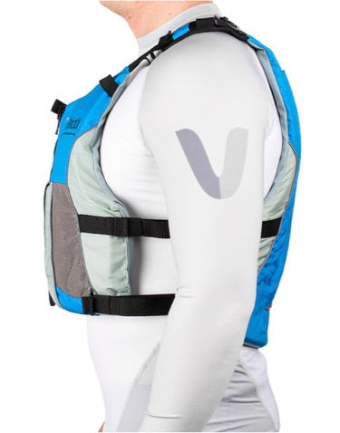 V3 Ocean Racing PFD Life Jacket - Cyan/Grey