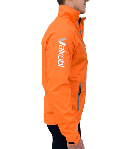VDRY- Lightweight Jacket - Fluro Orange