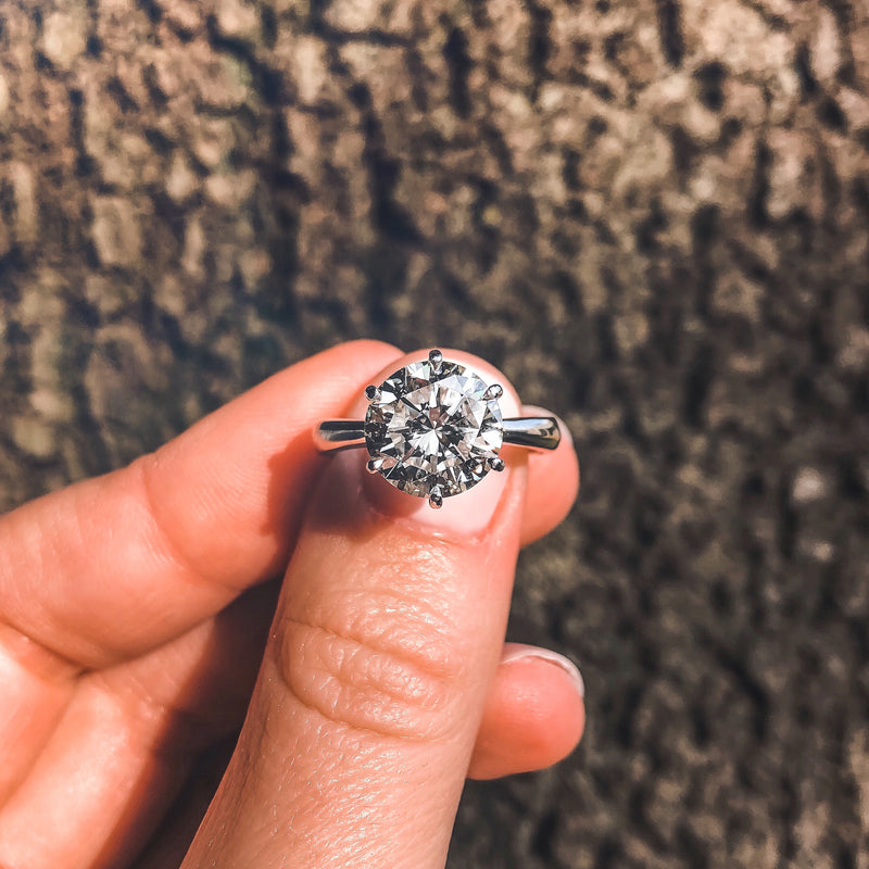 The Solitaire • 0,30ct Diamond