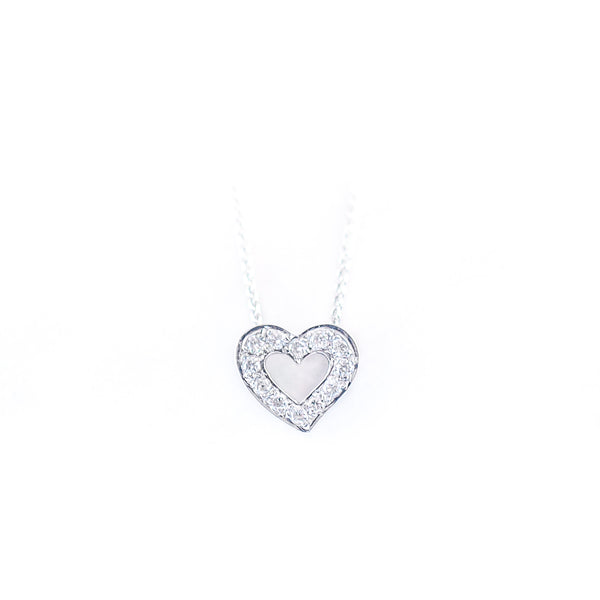 The Love Pendant • White Gold