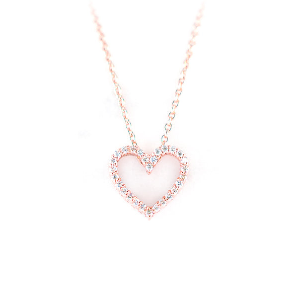 The Love Pendant • Rose Gold