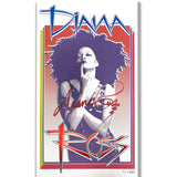 Diana Ross Cover Page Design AUTOGRAPHED Limited Edition Poster