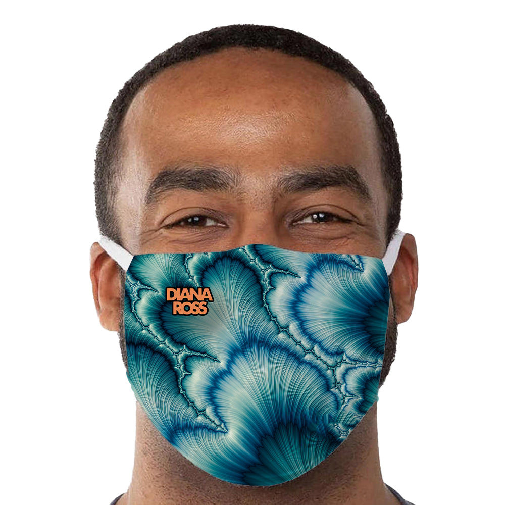 Diana Ross Waves Reusable and Washable Anti-Germ and Pollution Mask Cover
