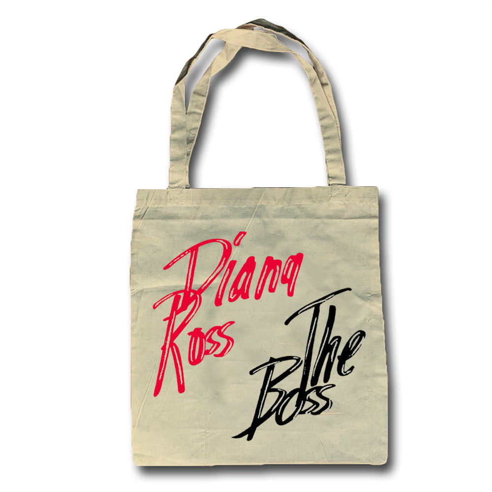 Diana Ross The Boss Design Tote Bag