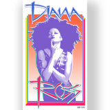 Diana Ross Cover Page Design Limited Edition Poster